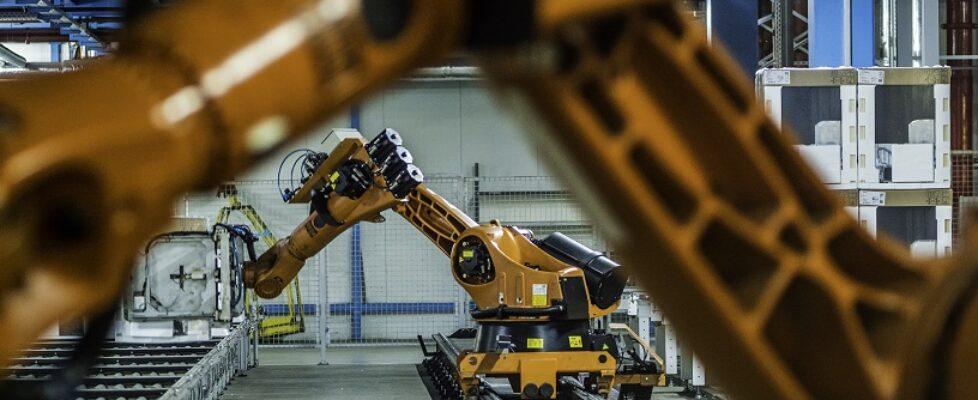 robot w fabryce
